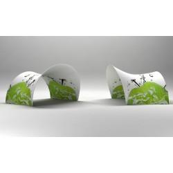 Kakemono suspendu Clic Clac avec visuel 70 x 100cm